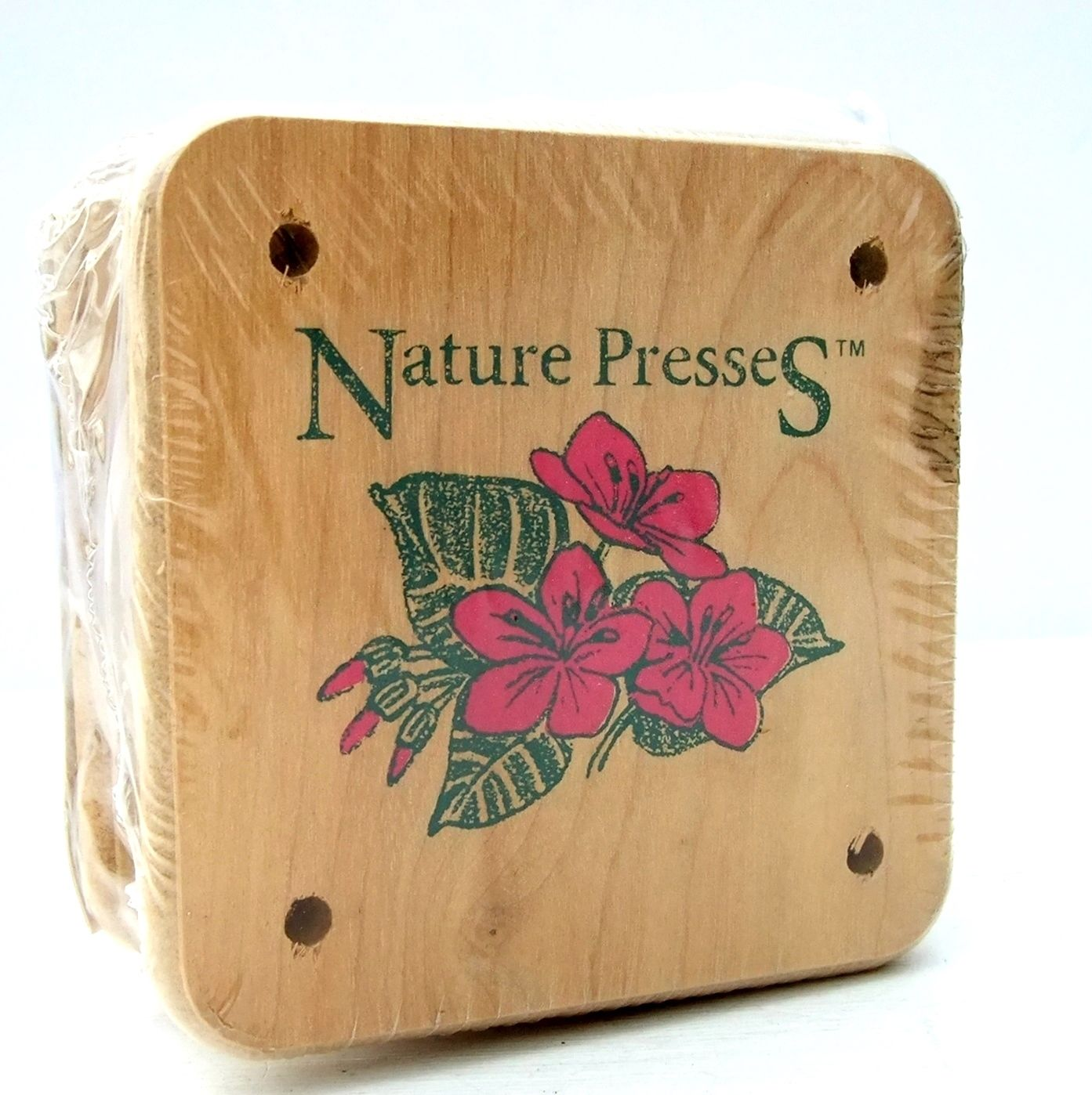 Vintage Retro Wooden Flower Press On The Vintage Pantry Store